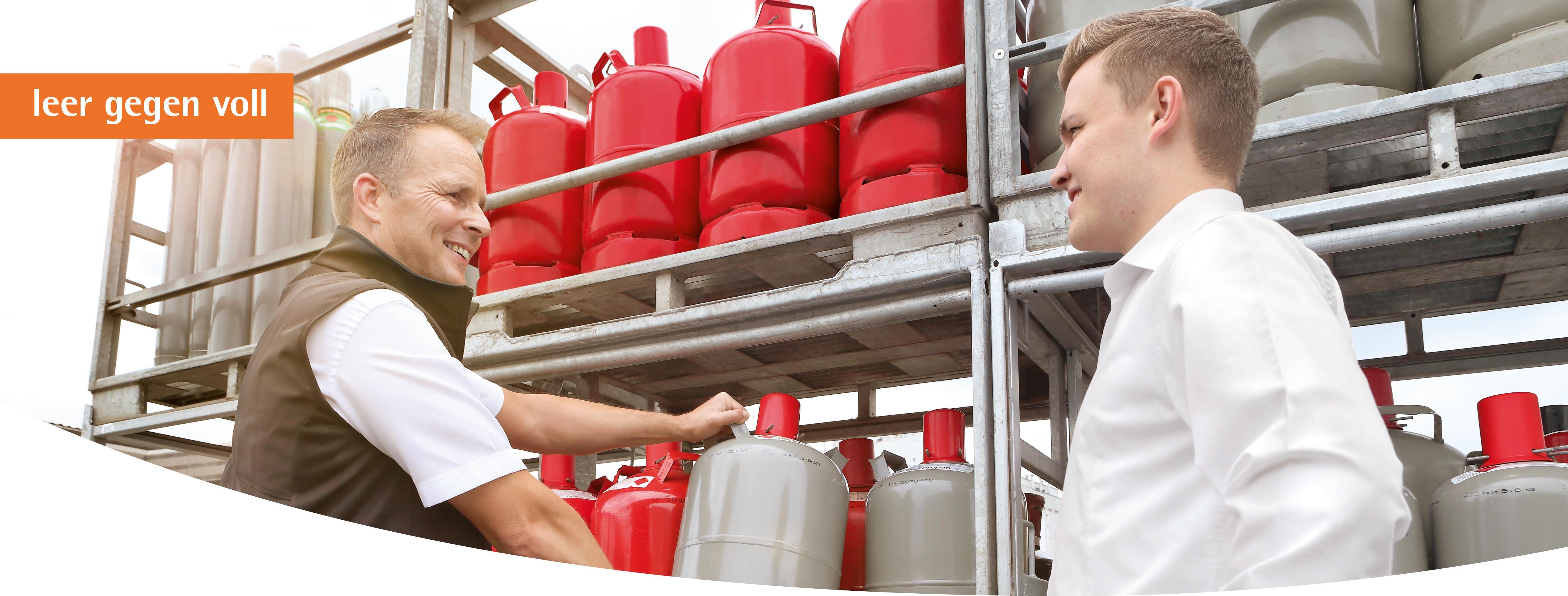 GlobalGas Flaschensysteme beim Händler.