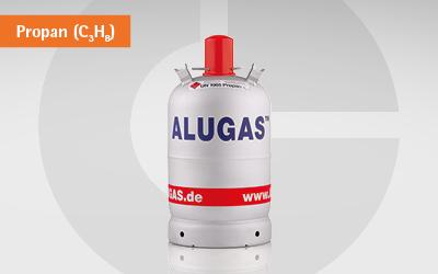 GlobalGas Alugas Gasflaschen.