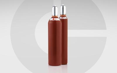 GlobalGas Acethylen Flasche C2H2 Zweier Gasflaschen Set.