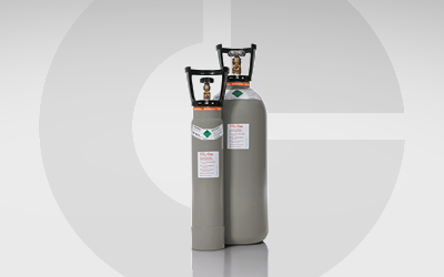 Kohlendioxid verfügbar in zwei unterschiedlichen Größen.
