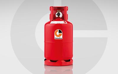 Globalgas Propan Treibgas Gasflasche.